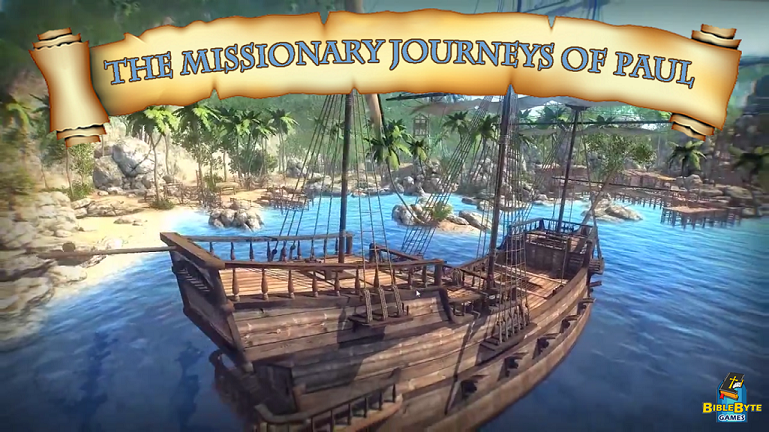 Join Paul The Apostle On His First Missionary Journey