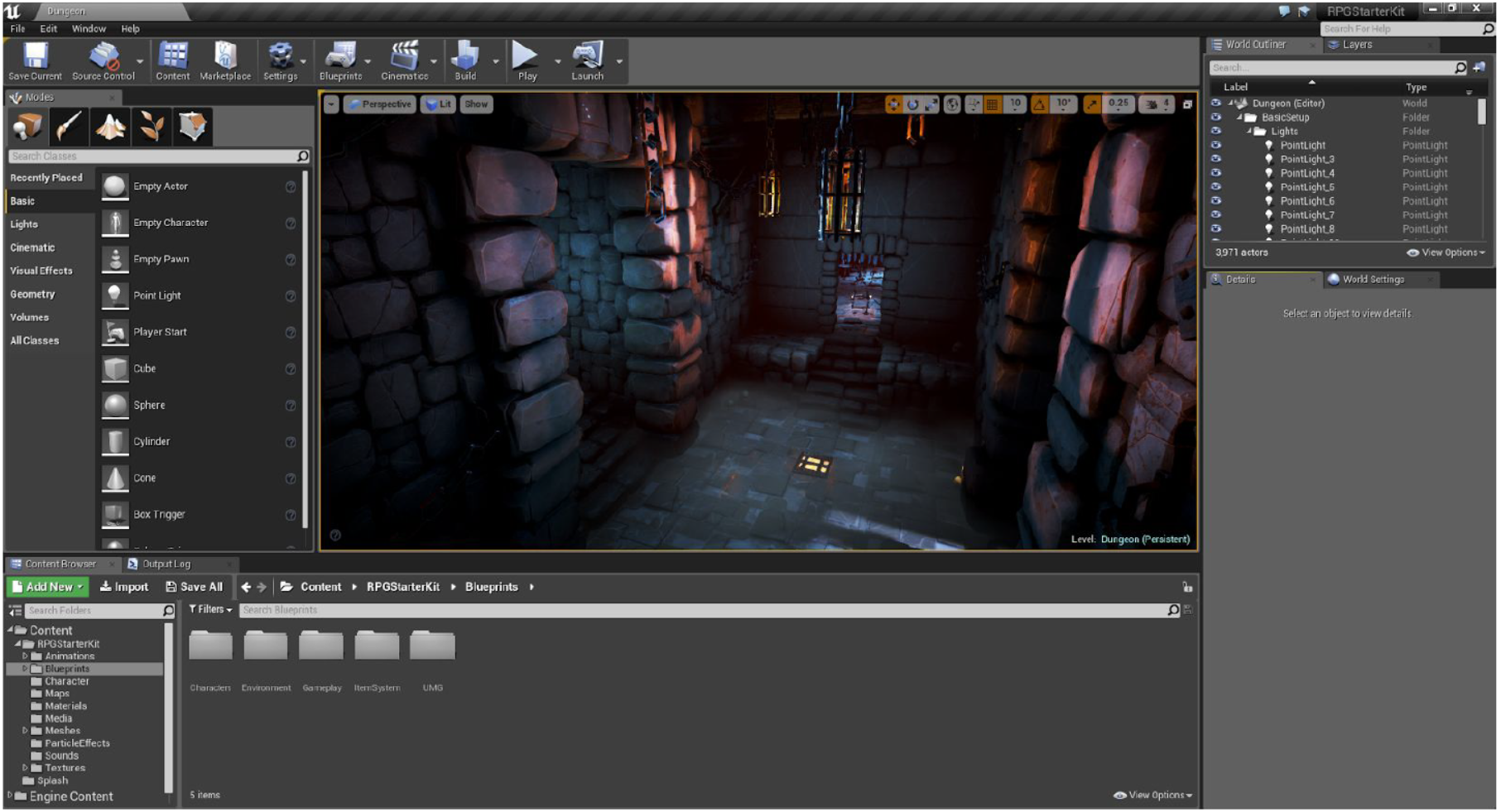 Unreal Engine Blueprints -