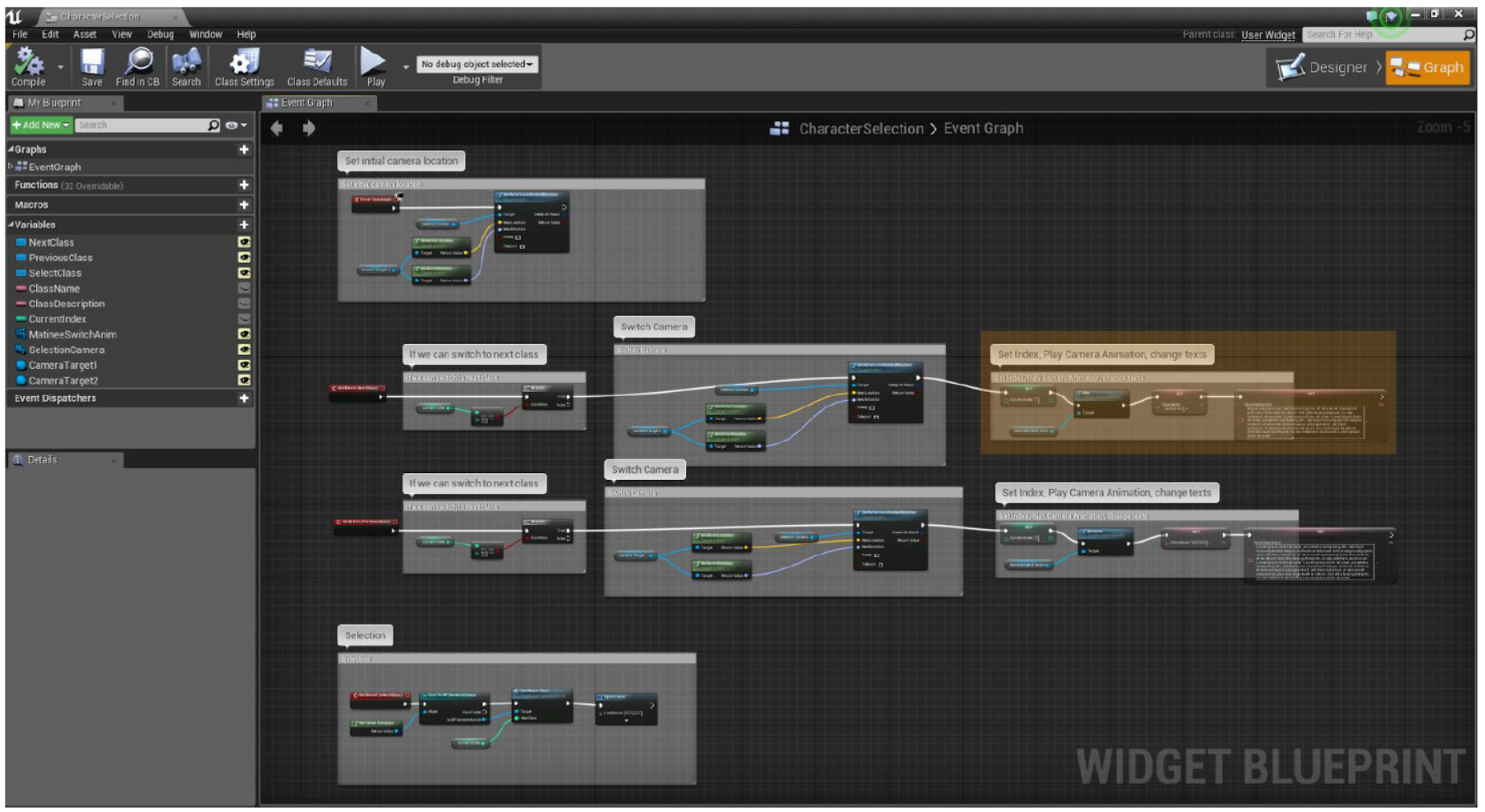 Unreal Engine Blueprints -