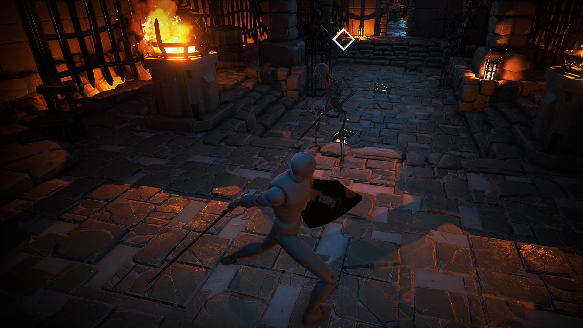unreal engine how to make a third person rpg